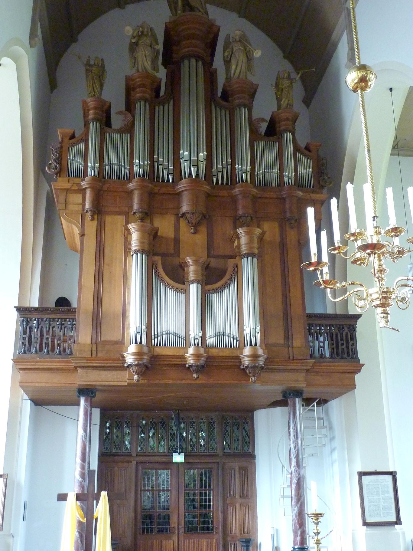 Petruskerk, van hirtumorgel
