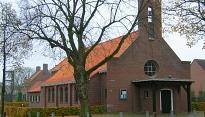Kerk Haghorst met noodportaal