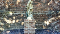 restauratie beeldengroep begraafplaats diessen 2015
