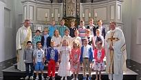 Eerste Heilige Communie 15 juni 2014
