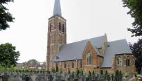 Kerk Diessen met kerkhof