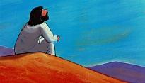 Jezus in de woestijn