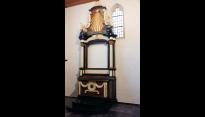 Gerestaureerde Maria-altaar Willibrorduskerk Diessen (nog zonder schilderij)