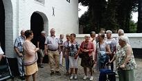 Willibrorduskoorkoor bij abdij van Postel