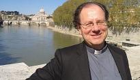 Uitnodiging voor installatie en receptie van pastoor Marc Massaer