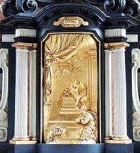 Nieuwe tabernakel Willibrordusaltaar