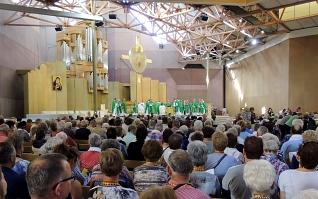 Foto 0086: in de Bernadettekerk