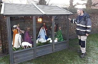 Kerstgroep bij Koetshuis Diessen