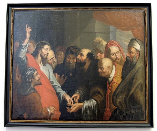 Schilderij de Cijnspenning Willibrorduskerk Diessen