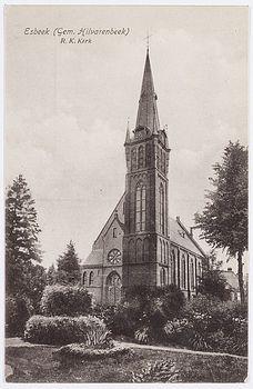 Oude kerk Esbeek
