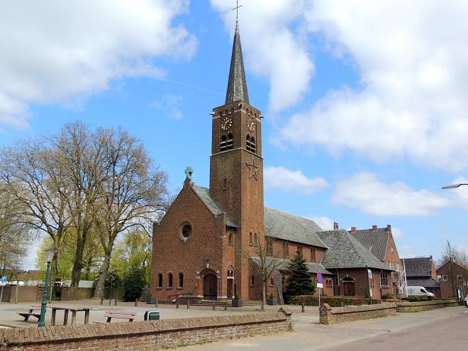 Huidige kerk Esbeek
