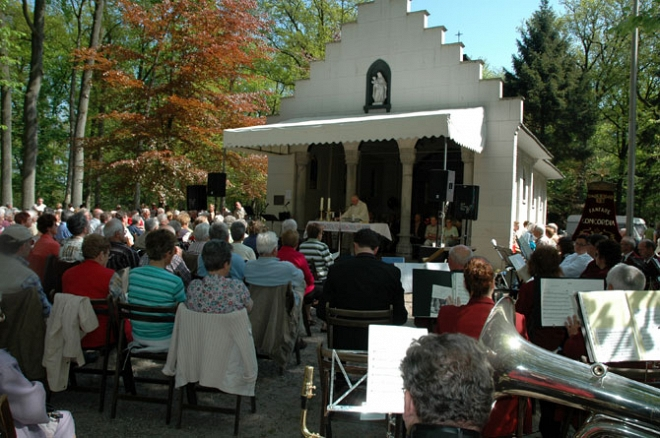 Openluchtmis Kapel Heilige Eik Oirschot