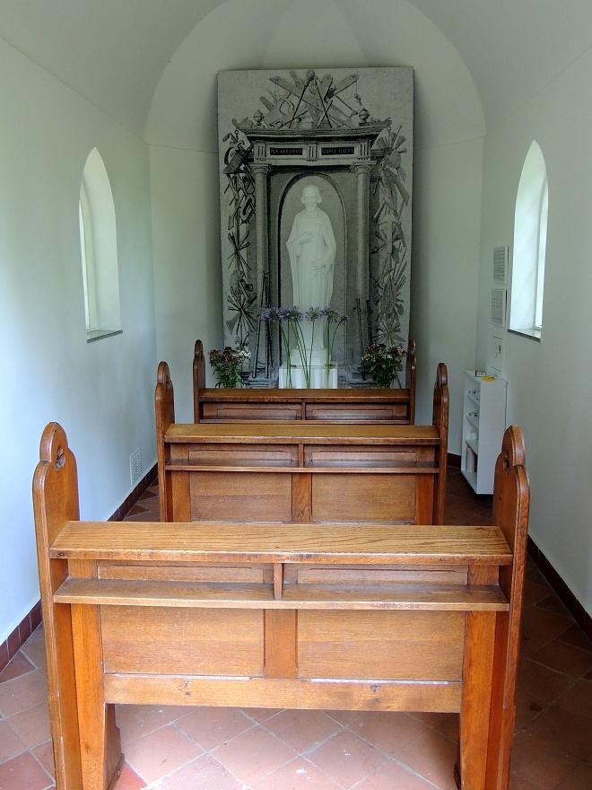 Interieur St.-Josephkapel op de Westrik Hilvarenbeek